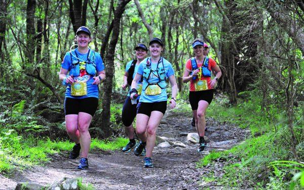 Wonderfalls trail run
